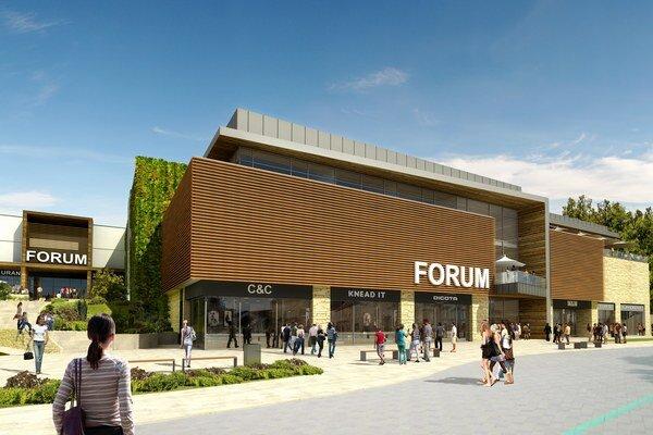 Nové obchodné centrum plánujú otvoriť budúci rok.