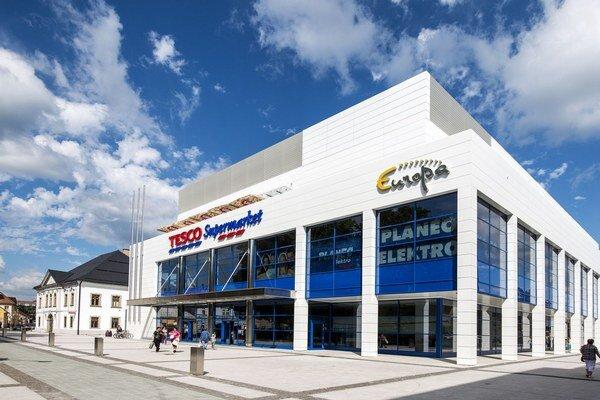 Colliers na Slovensku spravuje aj Európa Shopping Center vo Zvolene.