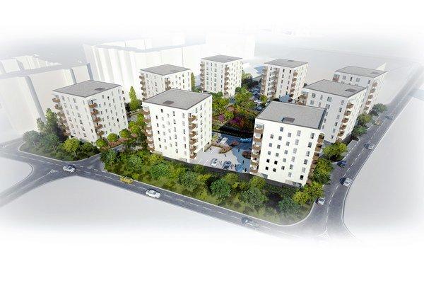Nové bytovky ponúknu jedno až štvorizbové byty.
