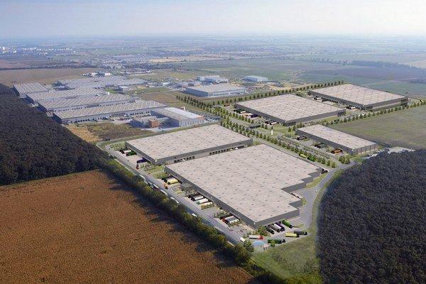 Nová výstavba predstavuje prvú plne špekulatívnu výstavbu skupiny Goodman na Slovensku