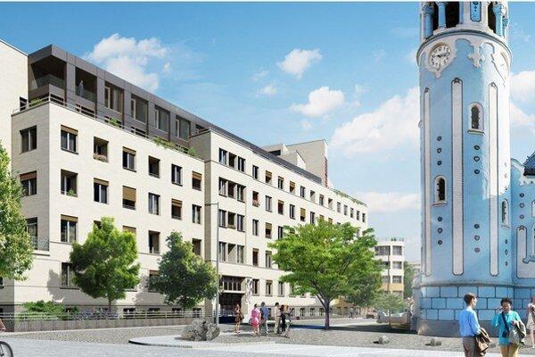 Najväčší záujem je o trojizbové byty s výmerou okolo 90 až 100 štvorcových metrov spolu s dvojicou parkovacích miest.