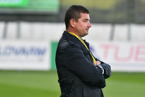 Marek Fabuľa, tréner Podbrezovej.