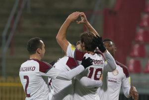 Hráči Podbrezovej patria k príjemným prekvapeniam našej najvyššej futbalovej súťaže.