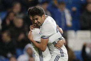 Enzo Zidane sa raduje po svojom góle.