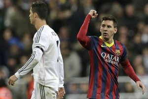 Ronaldo (vľavo) a Messi.