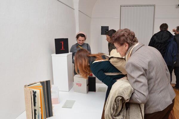 Z Trienále umenia knihy v Turčianskej galérii.