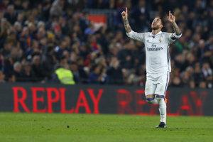 Sergio Ramos sa raduje zo svojho gólu.