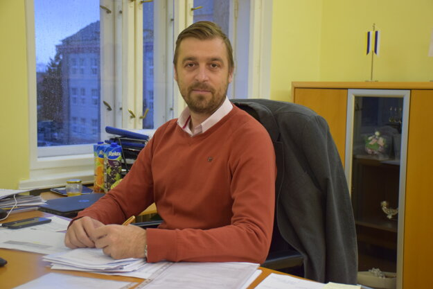 Primátor Piešťan Miloš Tamajka.