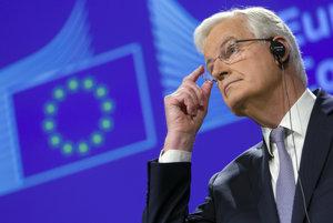 Michel Barnier, hlavný vyjednávač Európskej komisie v otázke brexitu.