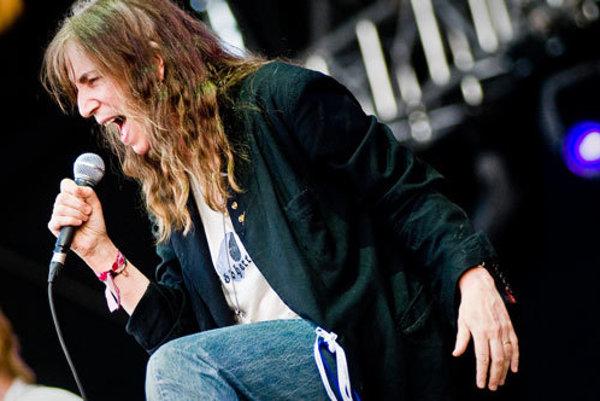 Patti Smith na festivale Pohoda 2009.