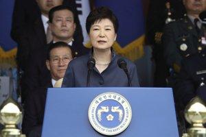 Juhokórejská exprezidentka Pak Kun-hje.