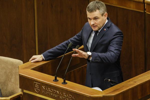 Podpredseda vlády Peter Pellegrini