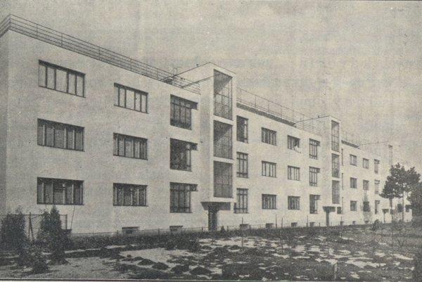 Masarykova kolónia peňažných úradníkov v Košiciach.