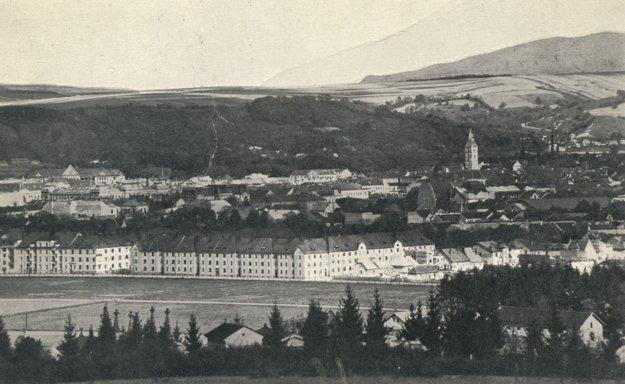 Pohľad na Košice, na tzv. Malú Prahu.