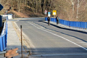 Most cez Ružín je v havarijnom stave.