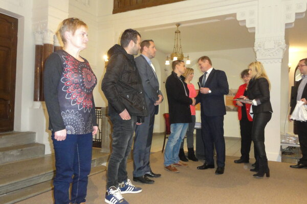 Ocenenia darcom krvi odovzdal župan Milan Belica.