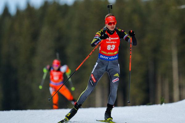 Anastasia Kuzminová skončila v šprinte s číslom 83 na skvelom šiestom mieste. V stíhačke sa jej ale nedarilo.