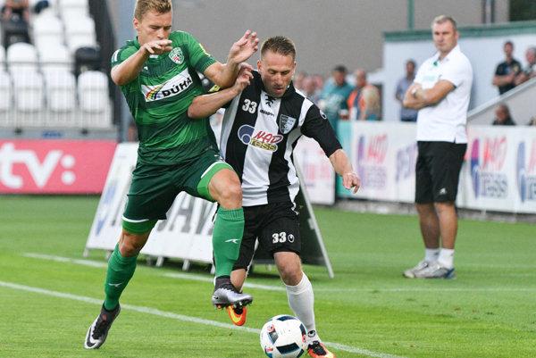 Lukáš Kubus vsietil jediný gól Prešova.