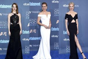 Emma Stone, Amy Adams, Nicole Kidman