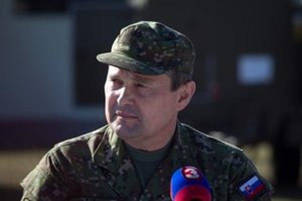 Náčelník Generálneho štábu Peter Vojtek.