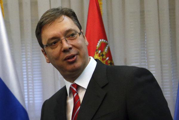 Srbský premiér.