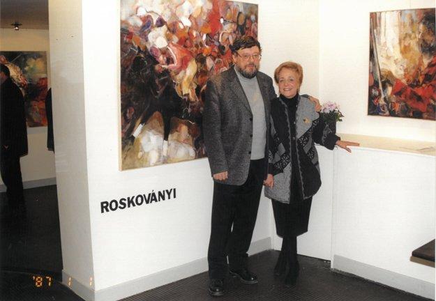 Na výstave v Paríži v roku 2000.
