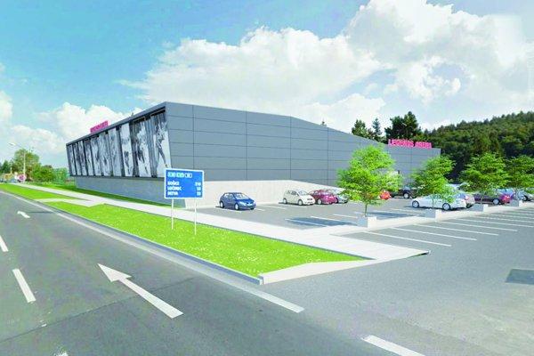 Pôvodný projekt šporového komplexu prispôsobila Idea Invest novému územiu, oktoré sa uchádza. Vypracovala aj návrh parkovacích miest.