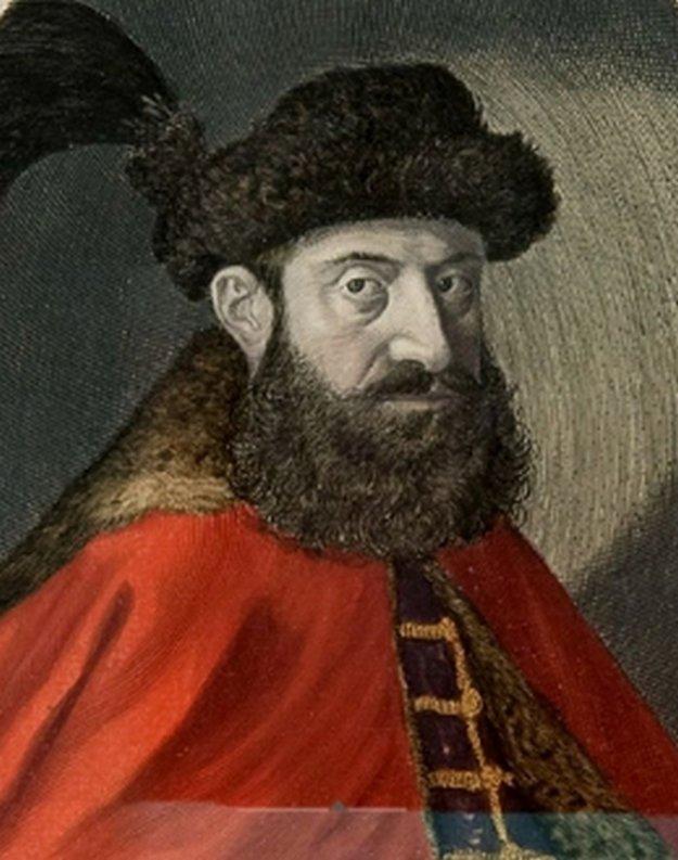 Gróf Juraj Turzo, palatín Uhorska v rokoch 1609-1616.