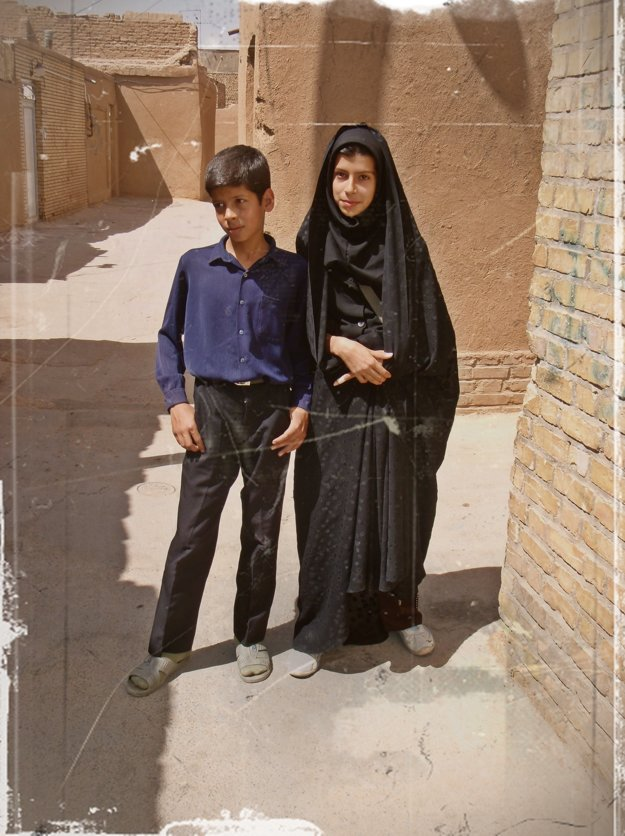 V uličkách druhého najstaršieho mesta sveta Yazd v Iráne.