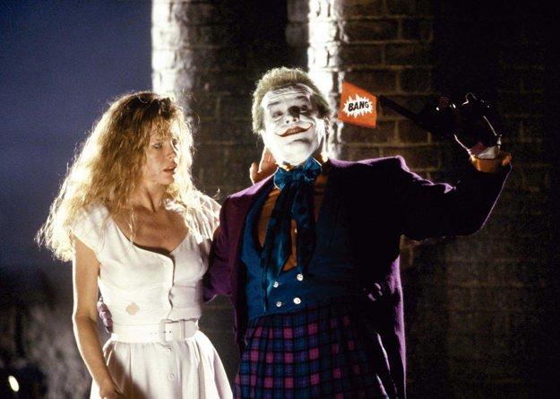 Vo filme Batman s Jackom Nicholsonom ako Jokerom