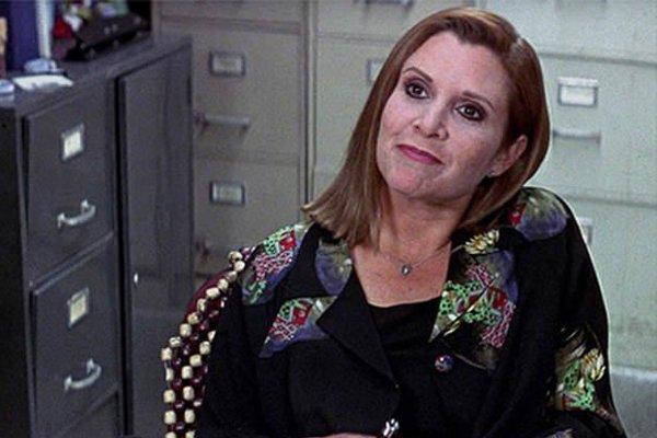 Carrie Fisherová bola vo filme Vreskot 3 podozrivá z vraždy.