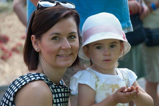 S dcérkou Grétkou.