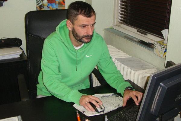 Attila Domik, športový riaditeľ MŠK Rimavská Sobota.