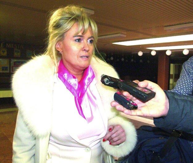 Predkladateľka návrhu Renáta Kolenčíková.