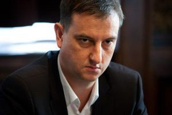 Minister kultúry Daniel Krajcer.