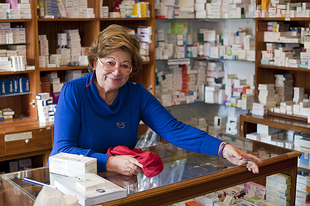 Froso Micha pracovala v lekárni 42 rokov. Dnes pomáha na klinike solidarity.