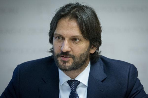 Minister vnútra SR Robert Kaliňák.