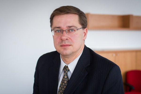 Sociológ Michal Vašečka.