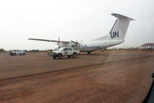 Peter Jantol sa stará o lietadlá, ktoré zabezpečujú projekt v Južnom Sudáne.