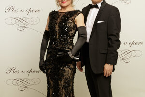 Oľga Belešová s manželom