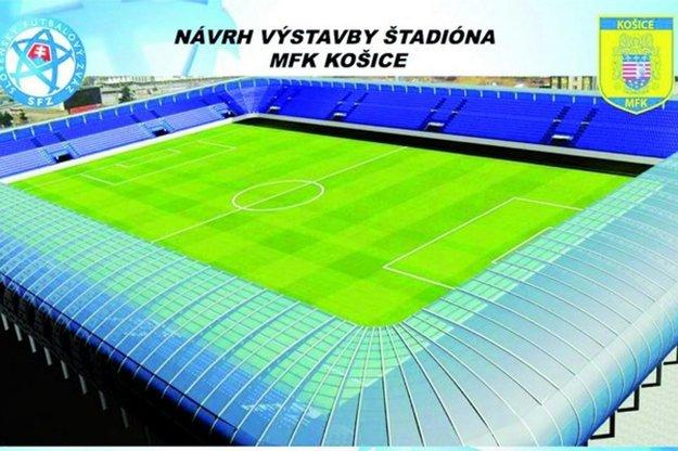 Nový štadión. Okrem športu má slúžiť na kultúrne a spoločenské akcie.