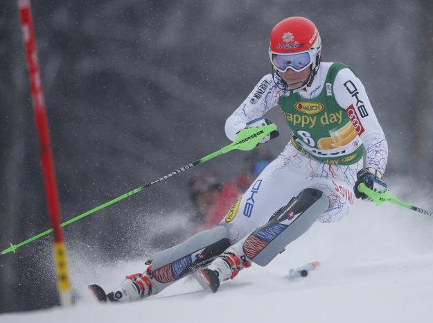 Petra Vlhová skončila v Maribore tesne pod stupňami víťazov.