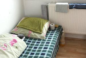 Bezdomovci môžu najhoršie obdobie prečkať v nocľahárni.