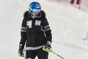 Veronika Velez-Zuzulová pred štartom 1. kola.