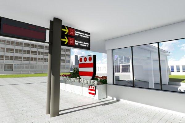 Predstaničný priestor na Masarykovej. Tento rok sa plánuje začať sveľkými opravami.