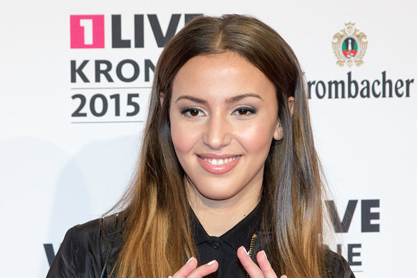 Jedna z ocenených umelcov, nemecká speváčka Namika.