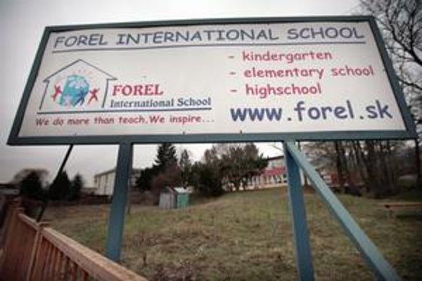 Škola Forel v bratislavskom Devíne.