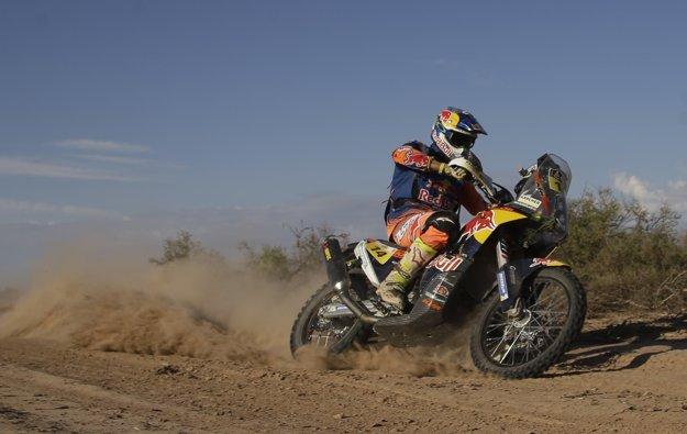 Víťazom Rely Dakar 2017 sa stal Sam Sunderland.