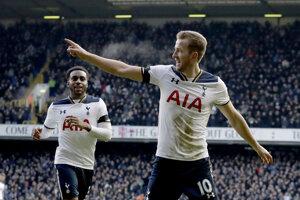 Harry Kane strelil tri góly.
