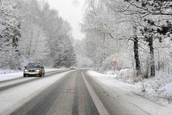Cesty v Prešovskom kraji sú zatiaľ zjazdné.
